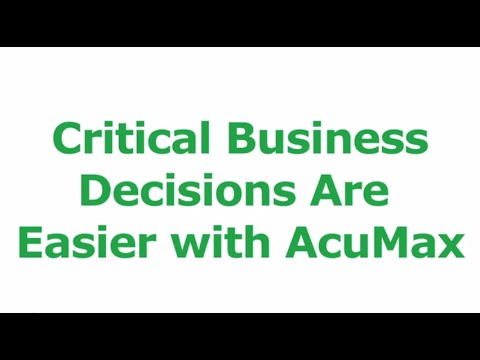 Make Critical Business Decisions with Confidence