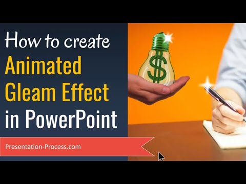 How To Create Animated Gleam Effect in PowerPoint