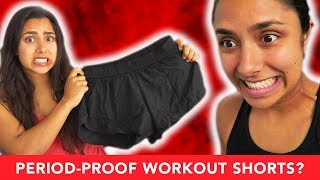 I Tried Period-Proof Workout Shorts 😬