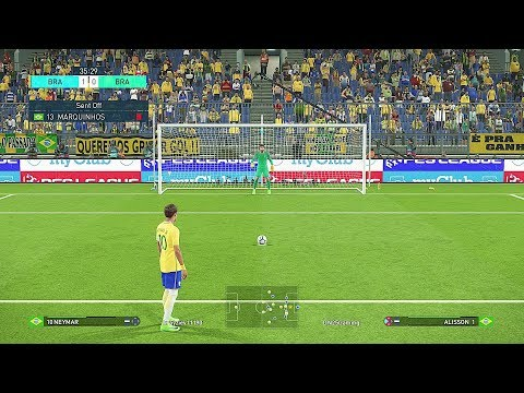 PES 2018 Penalty Shootout Gameplay -  Pro Evolution Soccer 2018 Beta PS4