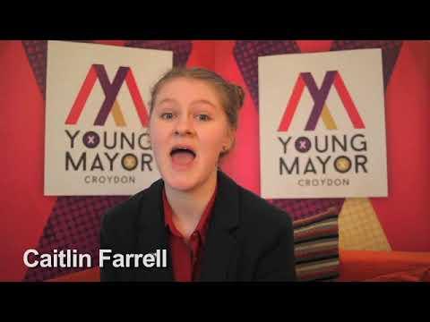 Croydon Young Mayor candidate - Caitlin Farrell