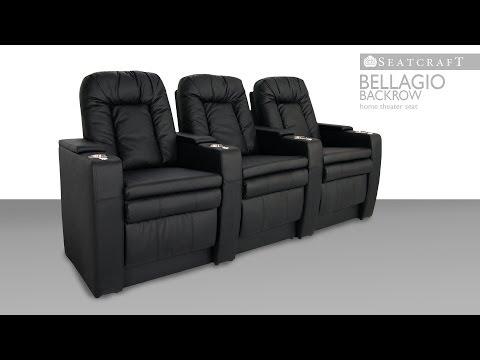 Seatcraft Bellagio Backrow Home Theater Seats