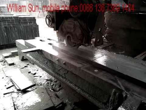 terrazzo tiles/stone slabs cutting machine