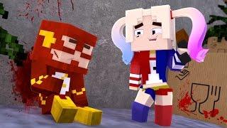 Minecraft - ESCOLINHA ‹ ARLEQUINA MATOU O FLASH? › #04
