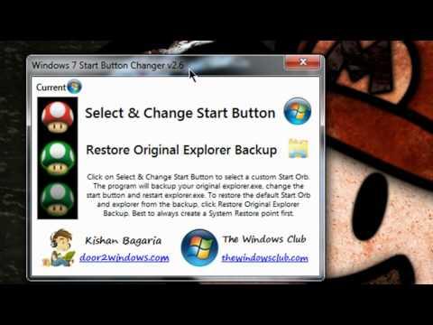 Windows 7 Start Button Changer - Freeware Review