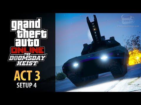 GTA Online: Doomsday Heist Act #3 - Setup: Khanjali (Elite & Mastermind II)
