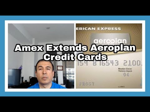 American Express Extends Aeroplan Credit Cards