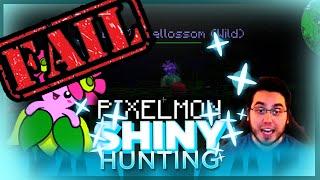EPIC SHINY FAIL! FAILED SHINY BELLOSSOM LIVE REACTION! Pixelmon Shiny Pokemon Fail