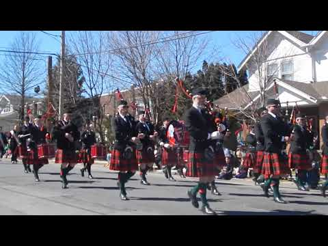 Allentown St. Patrick's Day Parade (Bagpipe band) - March 18, 2018