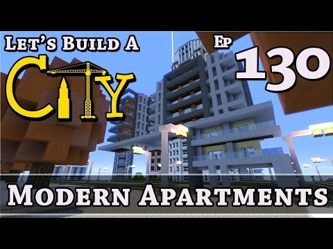 How To Build A City :: Minecraft :: Modern Apartments :: E130