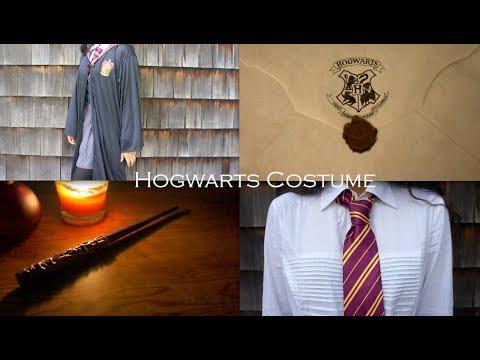 Hogwarts Costume (Gryffindor) + DIY Wand!