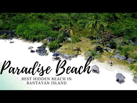 BANTAYAN ISLAND BEST HIDDEN BEACH | CEBU, PHILIPPINES