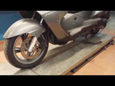 Motorcycle lift table homemade_video #1