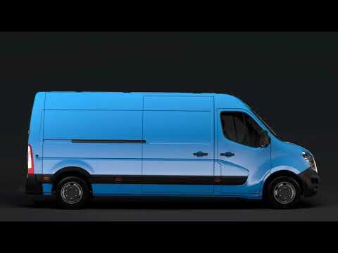 3D Model of Nissan NV 400 L3H2 Van 2017 Review