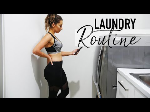 LAUNDRY ROUTINE | WEEKLY ROUTINE IN OUR NEW HOME