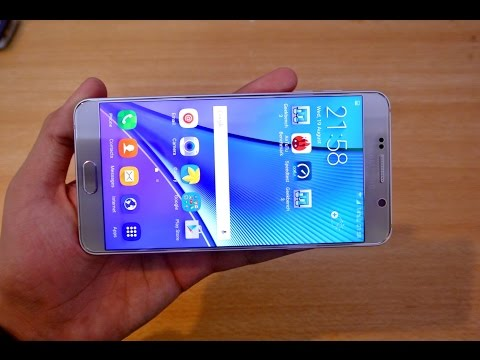 Samsung Galaxy Note 5 - 3 Different Ways to Take a Screenshot