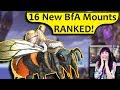 16 BfA Mounts - RANKED! Datamined Battle for Azeroth Alpha Mount Preview