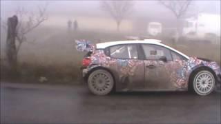 Tests Stéphane Lefebvre Citroën C3 WRC Rallye Monté Carlo 2017
