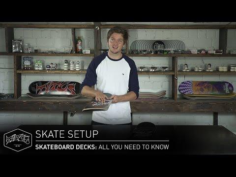 SKATEBOARD DECKS: All You Need To Know – Skate Setup | Titus
