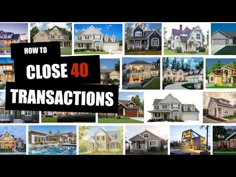 Borino Real Estate Coaching: How To Close 40 Transactions