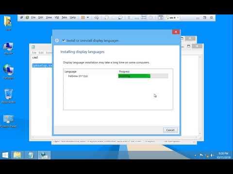 change display language windows 8 1 To Non Built in language Offline