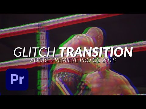 How To Create a RGB Glitch Transition in Premiere Pro Tutorial