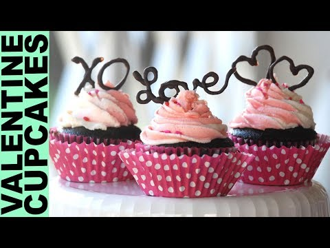 Gluten Free Cupcakes for Valentine's Day How To Make Chocolate Decorations Desserts GlutenFreeHabit