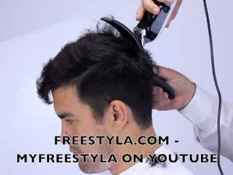 How to cut your boyfriend's hair, latest style with clippers and Freestyla.