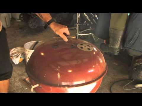 HANGI taste using a WEBER bbq grill New Zealand