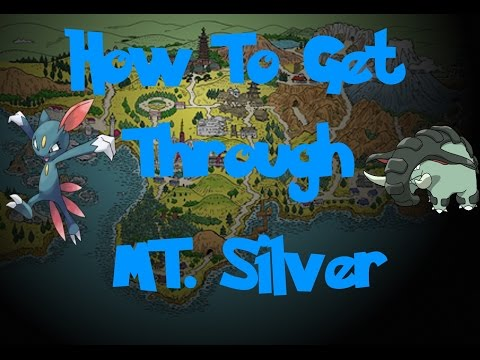 How To: Get Through MT. Silver (Pokemon Gold/Silver/Crystal)