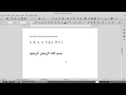 how to add keyboard arabic in Linux Mint 17.3 ( Rosa )