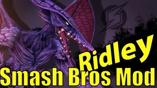 Ridley Mod is Quite IMPRESSIVE and Balanced in Super Smash Bros Brawl/PM