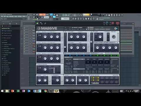 Making a Bass Synth in MASSIVE (Fl 12)