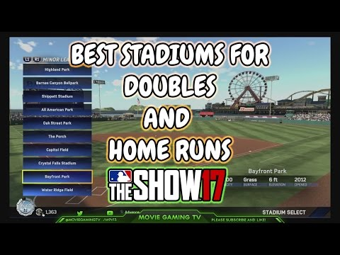Best Stadiums to Hit Doubles and Home Runs MLB The Show 17 Team Epic Tips