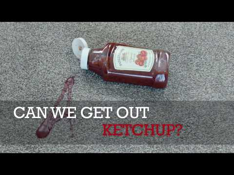 Can We Remove Ketchup Stains?