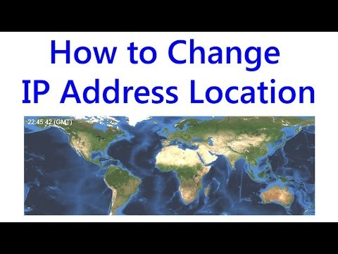 Change your IP Address Location