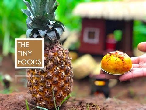 E29 || Pineapple Rava Kesari || The Tiny Foods