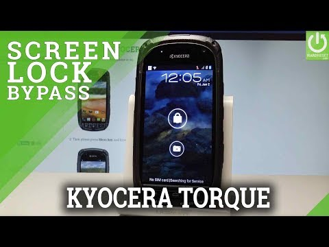 How to Hard Reset KYOCERA Torque - Bypass Screen Lock  HardReset.info