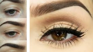 Easy Eyebrow Tutorial How To Trim Tweeze Shape Fill Your Brows For Be