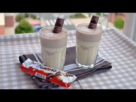 Kinder Bueno Milkshake - Easy Homemade Kinder Bueno Milkshake Recipe