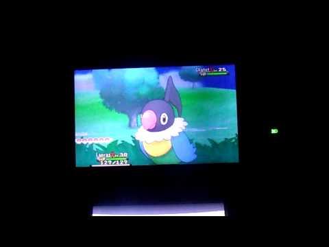 Pokemon Y - Route 12 Shiny Lapras Gift ;-;