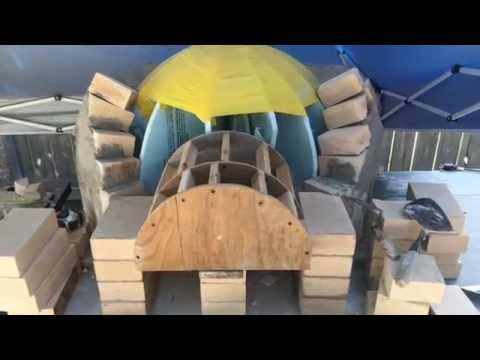 Pompeii Pizza Oven Build Step by Step