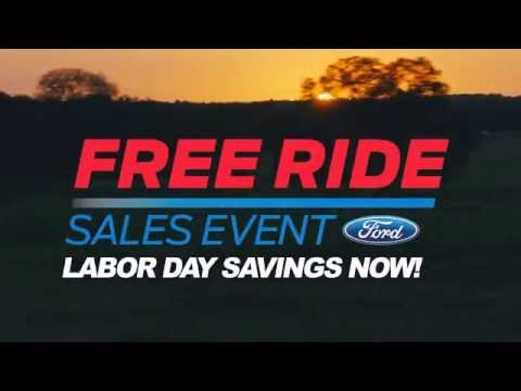 DARCARS Ford Free Ride Sales Event: Labor Day Savings