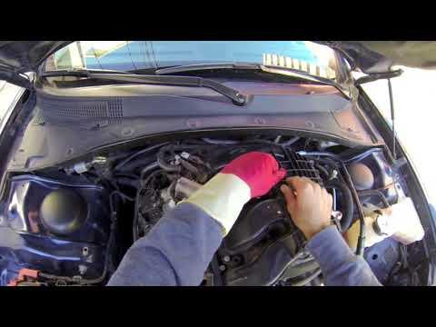 Cylinder 6 misfire changing & Cleaning spark plug on Chrysler 2015 300 Limited