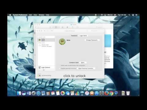 Rename Home Folder macOS sierra 10.12.2 without losing data