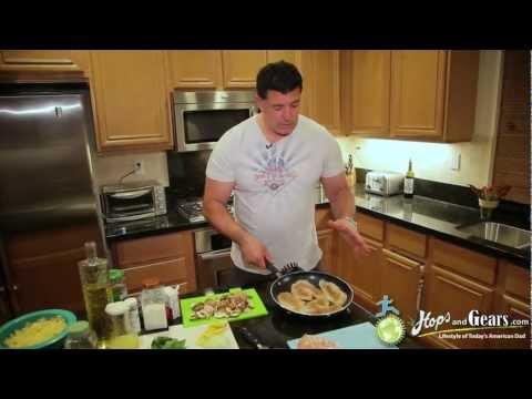 Lemon Chicken Pasta Cooking Video
