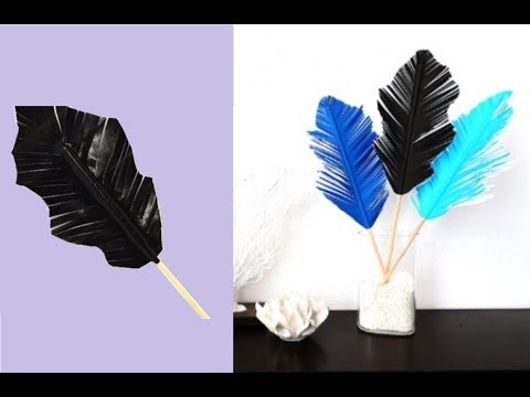 {DIY} Duct Tape Feathers