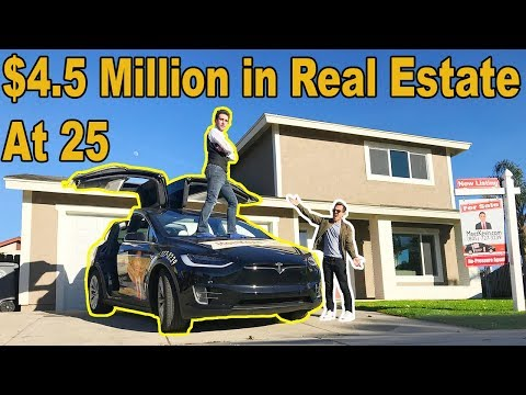 He owns $4.5 MILLION worth of Real Estate by age 25