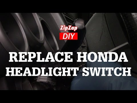 Replace the Headlight and Turn Signal Switch, Honda Element