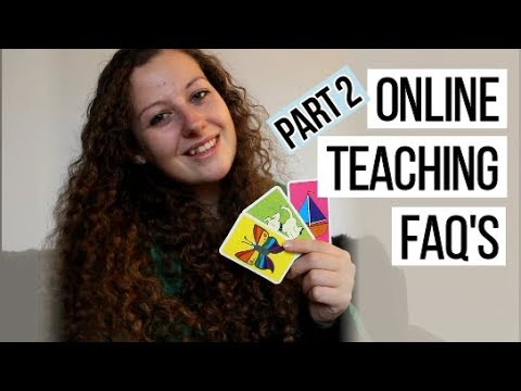 ONLINE ENGLISH TEACHER FAQ's PART 2 | Dealing With Difficult Students!